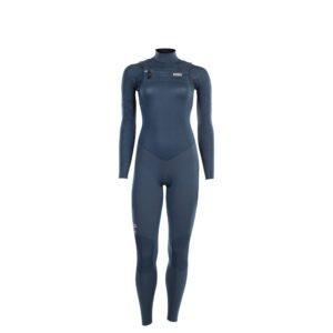 Dark blue ladies wetsuit