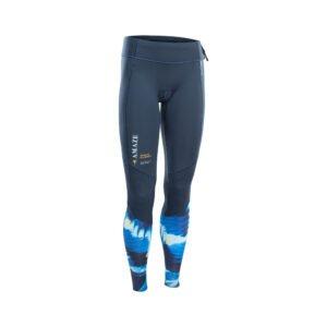Blue neoprene long pants