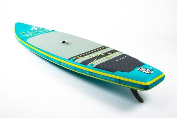 Green touring paddle board Fanatic Enduro