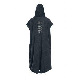 Black changing robe