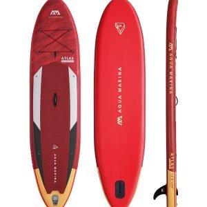 Red Aqua Marina Paddle Board