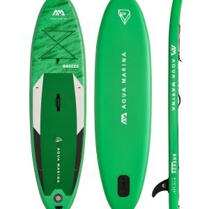 Green Aqua Marina Paddle Board