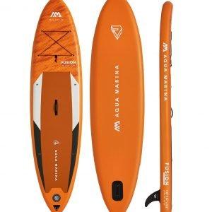 Oranage Aqua Marina Paddle Board