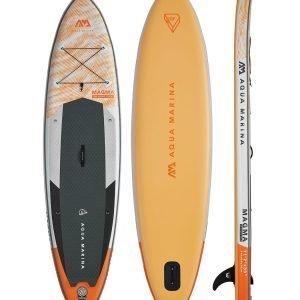 Orange Aqua Marina Paddle Board